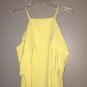 Yellow Anotonio Melani dress